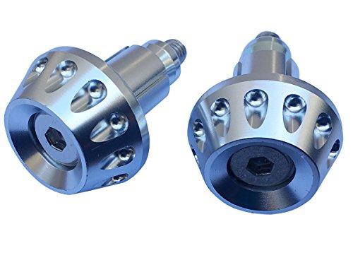 Chrome Silver CNC Aluminum Handlebar End Weights Caps Plugs for 2007 Honda Shadow VLX 600