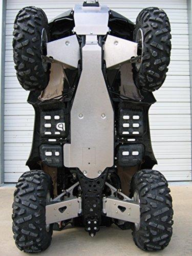 Aluminum Products - Honda Rincon 680700-06-14-SPD - Aluminum Skid Plate Package Honda Rincon 680700-2006-2014-Special Package Deal