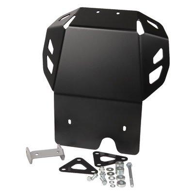 SW-MOTECH Aluminum Skid Plate Engine Guard for Kawasaki KLR650 08-17 - Black