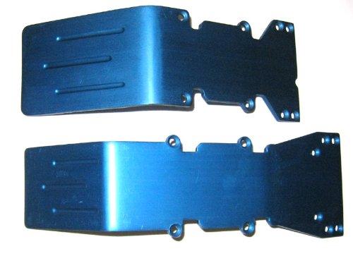 T-Maxx E-Maxx Blue Anodized Aluminum skid plate set