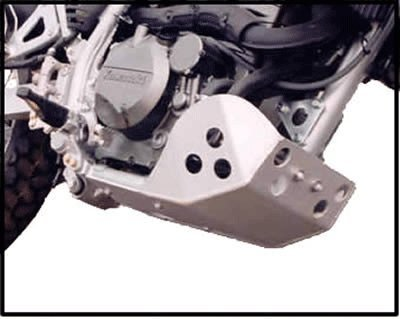 Kawasaki KLR 650 Full Protection Skid Plate Constructed with 316 5052 H-32 Aluminum All mounting hardware included by Ricochet for 2008 2009 2010 2011 2012 2013 2014 2015 2016 Model