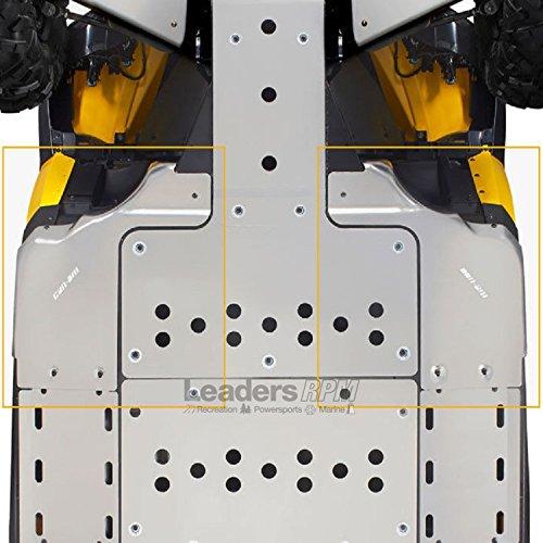 Can-Am New OEM Commander Maverick Front SideLateral Skid Plate Kit 715002494