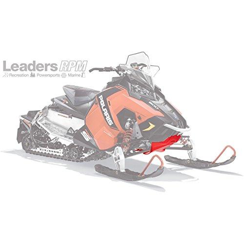 POLARIS New OEM Extreme Skid Plate Kit Red 2880384-293