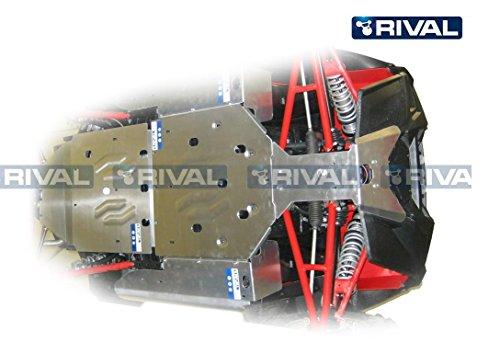Skid plate kit for Polaris RZR 900 XP
