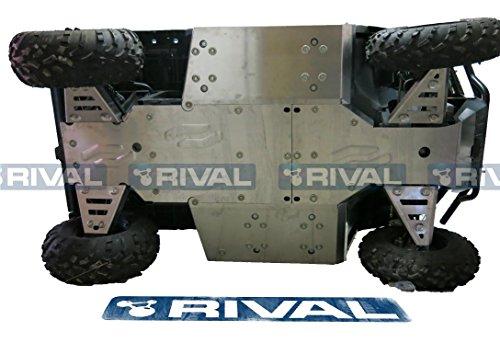 Skid plate kit for Polaris Ranger 400