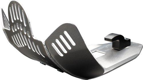 08-09 KTM 450SXF DeVol Skid Plate SILVER
