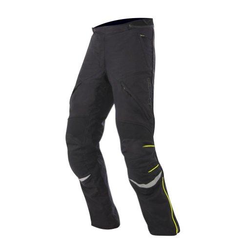 2014 Alpinestars New Land Gore-tex Motorcycle Pants - Black/yellow - Medium