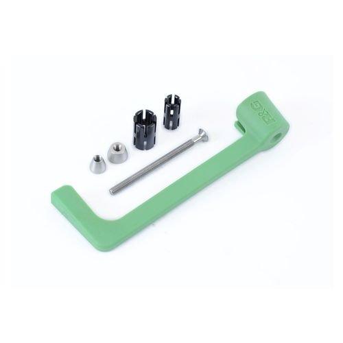R&G Green Brake Lever Guard  Universal Fit 13-21mm Internal Diameter Hollow Bars