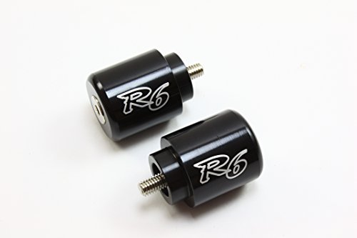 Z10 YAMAHA YZF R6 Black BAR ENDS 2006 2007 2008 2009 2010