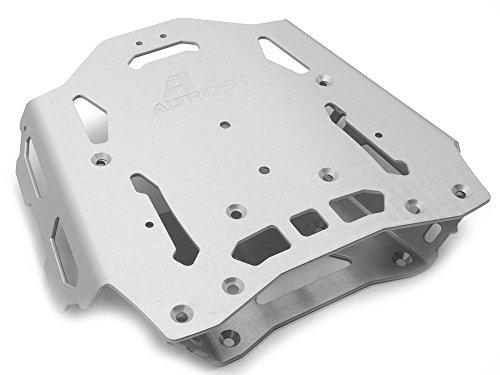 AltRider SU10-1-4000 Rear Luggage Rack for Yamaha XT1200 - Silver