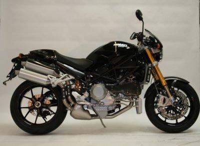 R&G Frame Sliders Ducati Monster 01 on  MTS Multistrada  Monster S4RS