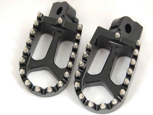 BLACK CNC RACING FOOTPEGS FP11 YAMAHA YZ85 YZ125 YZ250 YZ250F YZ426F YZ450F WR250 WR400 WR426 WR450
