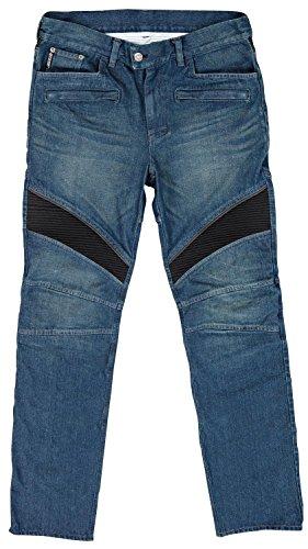 Joe Rocket Accelerator Jean Mens Blue Denim Motorcycle Pants - 36
