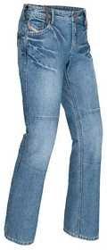 Tour Master Women's Indigo Denim Pants - Medium 12 - 14/blue