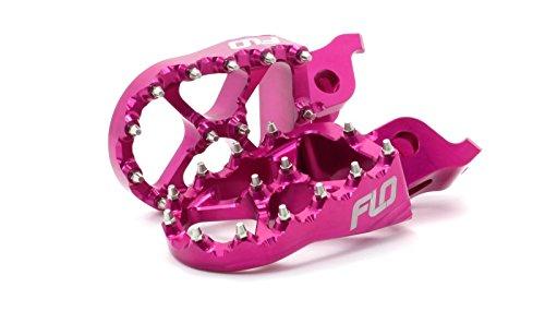 HONDA FOOT PEGS PINK CRF150R CR125  CR250 CRF250  CRF450R