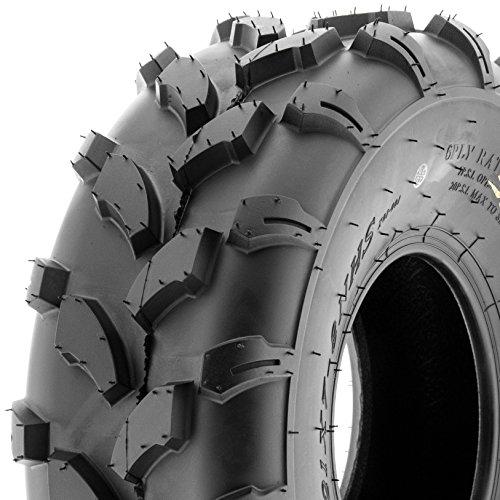 SunF 19x7-8 19x7x8 Sport Knobby ATV Tire 4 PR A003 Single
