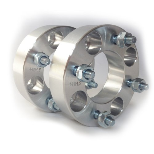 3 ATV Wheel Spacers Yamaha YFM 450 600 660 700 Rhino Grizzly - WS 4x110 15 - SmartPartsCo