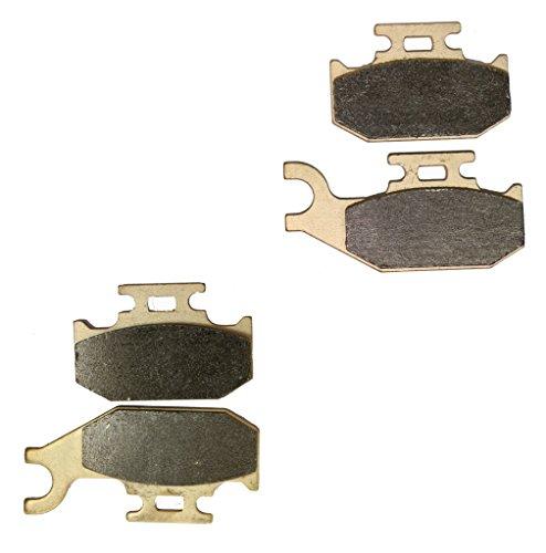 CNBK Sintering H-H Disc Brake Pads Set for SUZUKI ATV Bike LT-A700 LT-A 700 cc 700cc King Quad 2005 2006 2007 2008 2009 2010 2011 2012 2013 2014 2015 05 06 07 08 09 10 11 12 13 14 15 4 Pads
