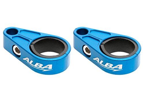 Suzuki ATV Billet Brake Line Clamps for Aftermarket Brakelines Blue Pair-Set of 2 6 color options