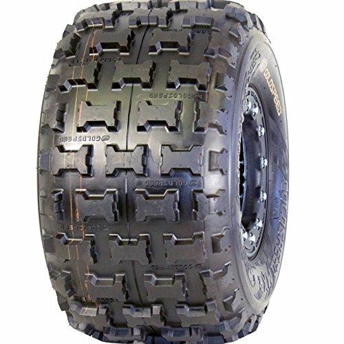 1- ATV REAR Tire 18x10-8 Blue Compound ATV Racing tire - Goldspeed MXR