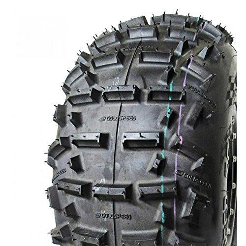 1- ATV REAR Tire 21X10-9 Yellow Compound ATV Racing tire - Goldspeed SC-3