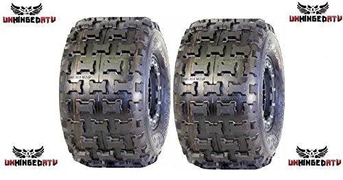 2- ATV REAR Tires 18x10-8 Blue Compound ATV Racing tires - Goldspeed MXR