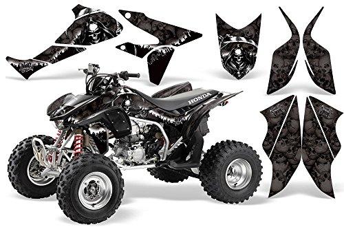 2004-2014 Honda TRX450R AMRRACING ATV Graphics Decal kit-Reaper-Black