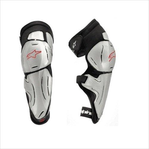 Alpinestars Bionic SX Knee Protector - X-SmallSmallSilverRedBlack