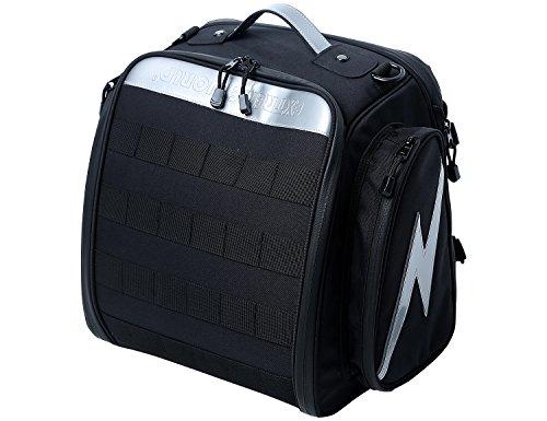 Extremeworld Motorcycle Expandable TailSeat Bag B9114Black