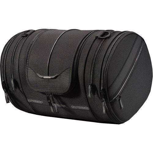 "Tour Master Select Motorcycle Sissy Bar Bag - Black  205"" L x 125"" W x 12"" H"