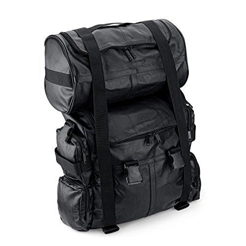 Viking Aero Medium Expandable Motorcycle Sissy Bar Bag