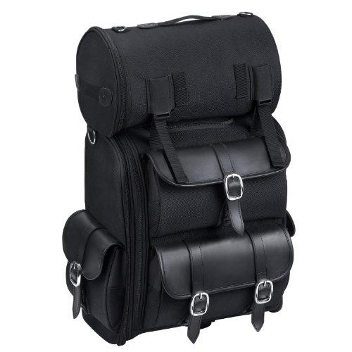 Viking Leather Motorcycle Sissy Bar Bag