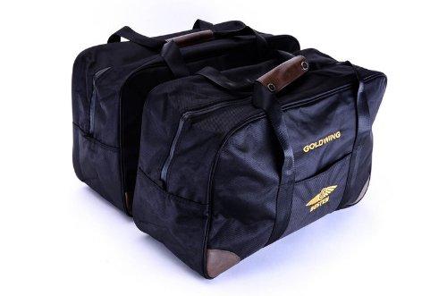 Bestem LGHO-GL12H-SDL Black Saddlebag Liners for Honda Gold Wing GL1200 Pair