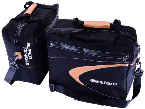Bestem LGYA-TENE-SDL-BLK Black Saddlebag Side Case Liners for Yamaha Super Tenere - Pair