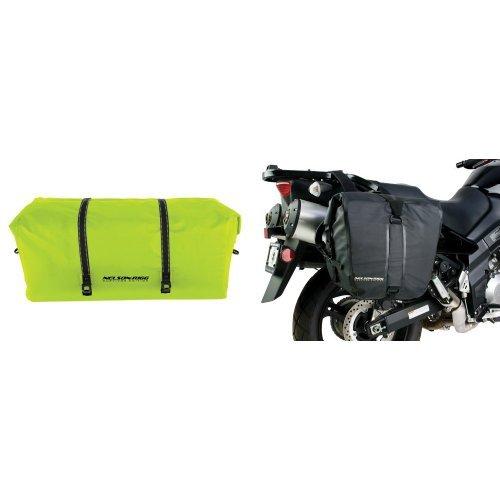 Nelson-Rigg SE-2025-HVY Hi-Visibility Yellow Large Adventure Dry Bag and  SE-2050-BLK Black Adventure Dry Saddlebag Bundle