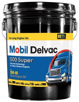 Mobil MO01305P 5 Gallon 15W40 Super Diesel Engine Oil