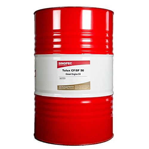 Sinopec SAE 50 Wt Diesel Engine Oil - 55 Gallon Drum