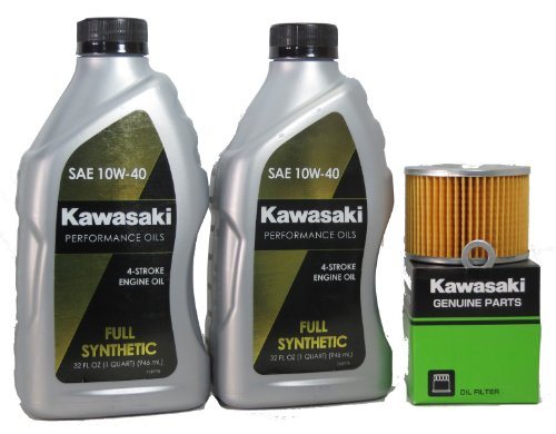 2007 Kawsaki EX250F7F Ninja 250R Full Synthetic Oil Change Kit