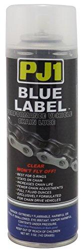 PJ1 1-08 Blue Label O Ring Chain Lube Aerosol 5 oz