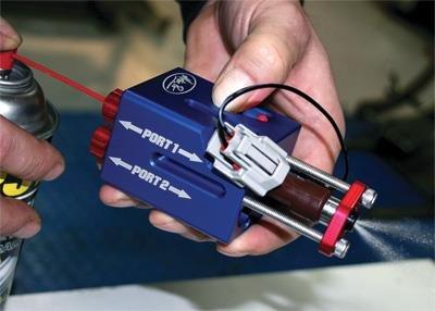 Motion Pro 08-0595 Fuel Injector Cleaner Kit for EV6 Older Model H-D