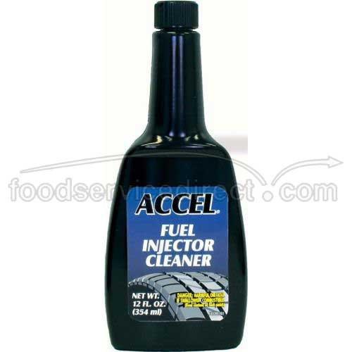 Warren Distribution Accel Carburetor Fuel Injector Cleaner 12 Ounce -- 12 per case
