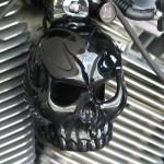 Harley-Gloss-Black-Powder-Coated-Evil-Twin-Skull-Horn-Cover9.jpg