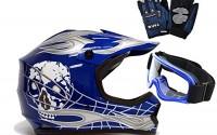 TMS-Youth-Kids-Blue-Silver-Punk-Dirt-Bike-Atv-Motocross-Helmet-Mx-goggles-gloves-Medium-8.jpg
