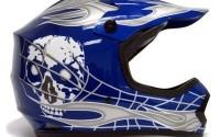 TMS-Youth-Kids-Blue-silver-Skull-Dirt-Bike-Motocross-Helmet-Mx-Large-6.jpg