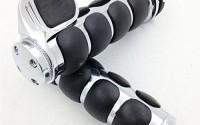 HTT-Chrome-Rubber-Hand-Grips-1-Pair-For-Harley-Davidson-FXDWG-Dyna-Wide-Glide-Suzuki-Volusia-800-M50-Boulevard-0.jpg